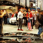 A friend had the idea to sneak into the Gumball Rally  in 2012, this is what happened: http://www.youtube.com/watch?v=TYiowIg_DmM #gumball2012…