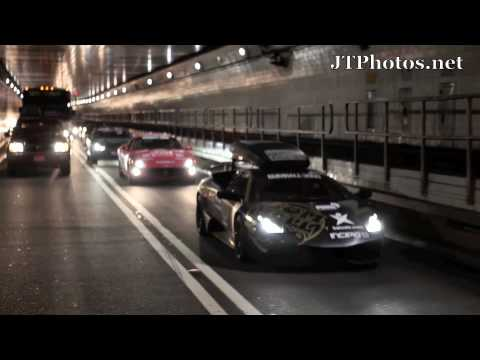 Chasing the Gumball 3000 NYC 2010