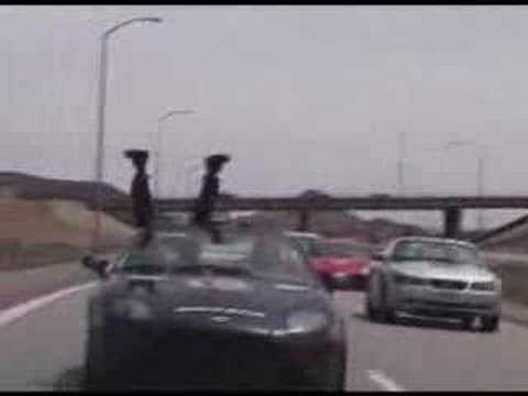 Gumball 3000 Crazy Illegal Street Racing on the Freeway
