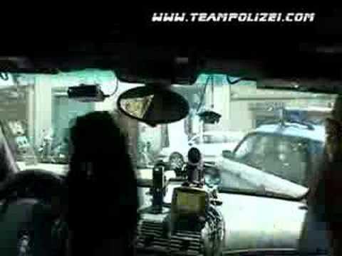 Team Polizei police escort Gumball 3000