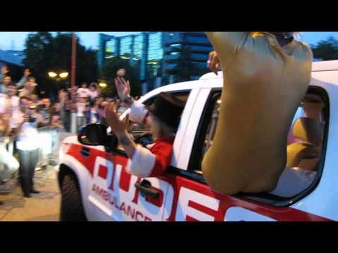 Gumball 3000 2011 Belgrade Team Zulu BMW M5,The DUDESONS!!!