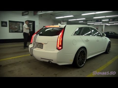 Gumball 3000 2012: Team Rides Magazine Cadillac CTS-V