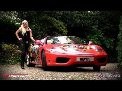Gumball 3000 2011: Team Pistol Pink – Ferrari 360 Spider