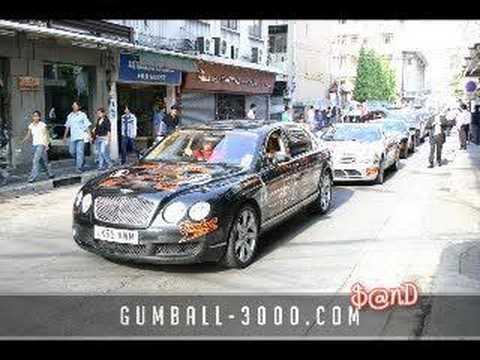 Gumball 3000 Thailand 2006 part2 : departure
