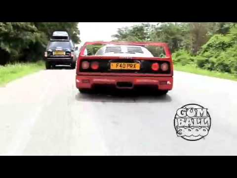 '3000 Miles' – Ferrari F40 races through Thailand