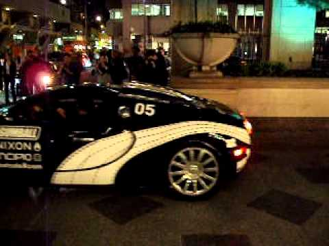 Bugatti Veyron  parking at park hyatt — Gumball 3000 2010 Toronto
