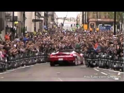 Gumball 3000 Rally – THE START – In London UK – 2012