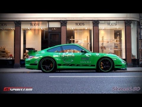 Gumball 3000 2011: Team Greeeen – Porsche GT3RS