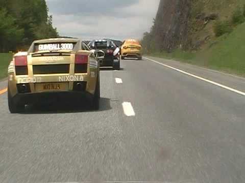 GUMBALL 3000 2010 TRIP