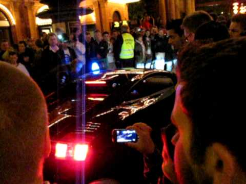 GumBall 3000 video LAMBORGHINI GALLARDO Police