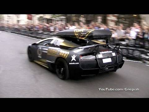 The start of the 2010 Gumball 3000 Rally! – Pall Mall, London