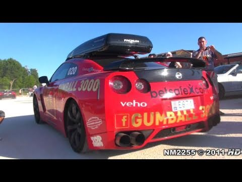 Gumball 3000 BEST CAR SOUNDS – Accelerations, Revs and More!!