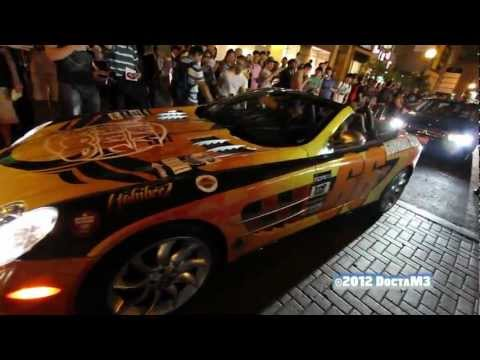 2012 Gumball 3000 Toronto Grid Reaction Video Part 1
