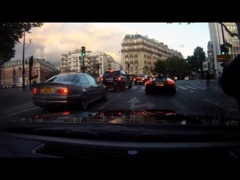 Driving the 2011 Gumball 3000 route from Calais – Paris. Onboard Go Pro footage!