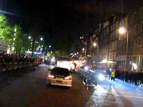 Gumball 3000 Burn and police @ Amsterdam