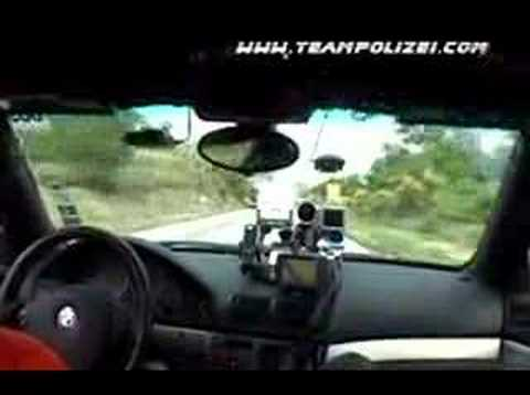 Team Polizei's 2005 Gumball 3000 Rally Ambulance Chase!