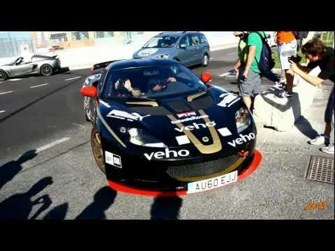 Gumball 3000 2011 in Venice – Veyron,One-77,670 SV,SLR,GTO and more