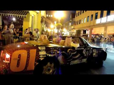 Gumball 3000 Toronto 2012 – The arrival of customized Lamborghini Aventador, Bugatti Veyron, et al.