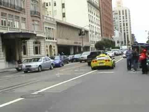 Gumball 3000 2008 San Francisco Part 1 of 4
