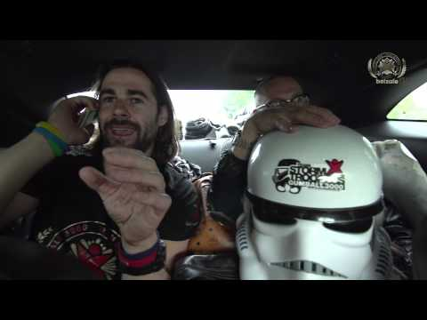 Gumball 3000 – Day 2 – Storm Trooper Camaro's new tires