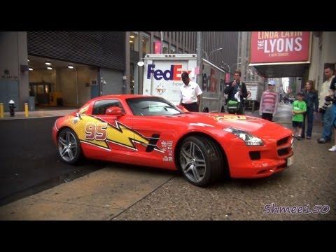 Gumball 3000 2012: Team Rust-eze Mercedes SLS AMG