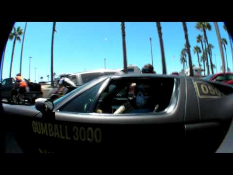 Gumballers on the streets of Los Angeles @ Gumball3000 2008