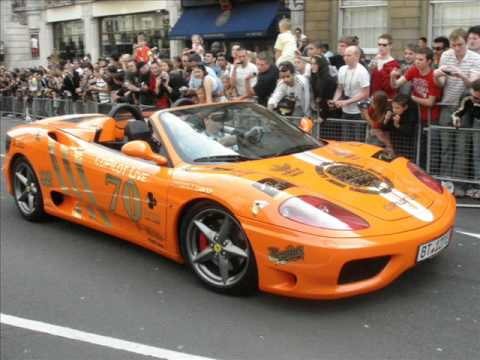 Gumball 3000, 2007  Start of Rally! PHOTO SLIDESHOW…