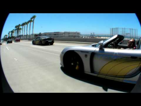 Porsche Carrera GT @ Gumball 3000 2008 Rally