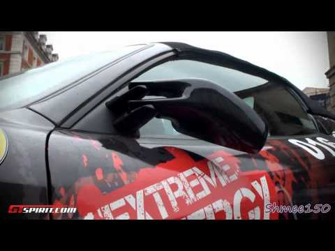 The First Gumball 2011 Casualty – Ferrari F430 Door Mirror