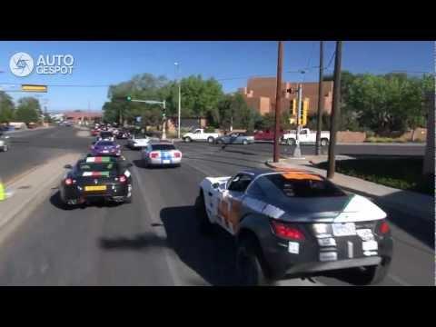 Gumball 2012 Part 23. Santa Fe to Las Vegas