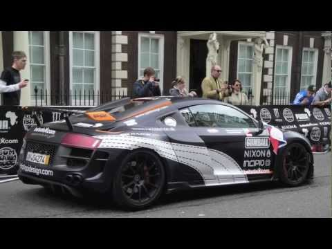 Gumball 3000 : 2010 superbe pictures of cars : bugatti, SLR, enzo, and more