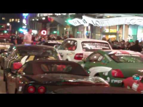 2010 Gumball 3000 Finish Line