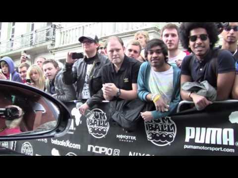 Gumball 3000 2010, Bugatti Veyron, London to New York