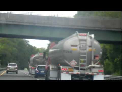 Gumball 3000 Rally 2012 -Gas Tanker Weave