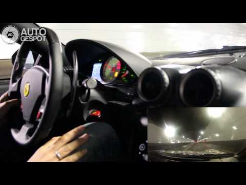 Gumball 2012 Part 16. Windsor tunnel full throttle with 599 GTO!