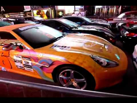 Gumball 3000 2012 ll Ferrari California