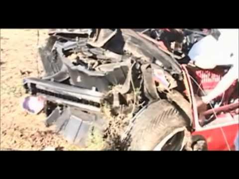 Dodge Viper 120mph crash, gumball 3000 – 2004