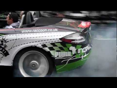 Gumball 3000 2010 SLR – burnout with a smile