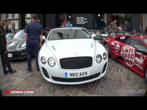 Gumball 3000 2011 Start Grid in London