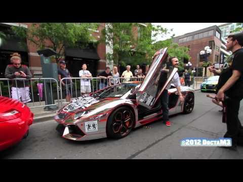 """Aventador: The """"Winningest"""" V12 in Gumball 3000 2012"""