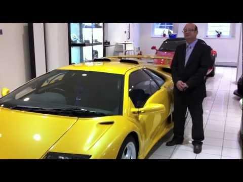 Bob Forstner. Lamborghini Diablo Jota R.