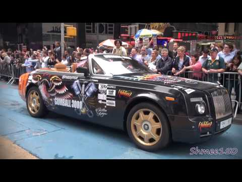Gumball 3000 2012 New York Start