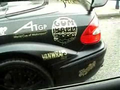 Gumball 3000 2007 C.London to EuroTunnel  1 of 3