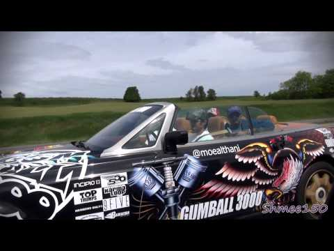 Gumball 3000 2012 Team Habibeez Toronto to Indianapolis