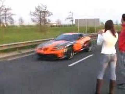 gumball 3000 2007 CHUNNEL FRANCE 29 APR