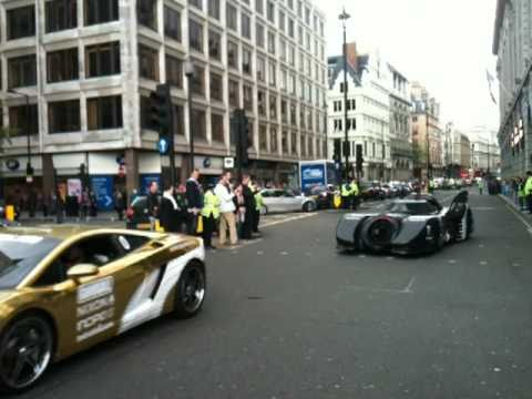 Gumball 3000, London 2010. Piccadilly