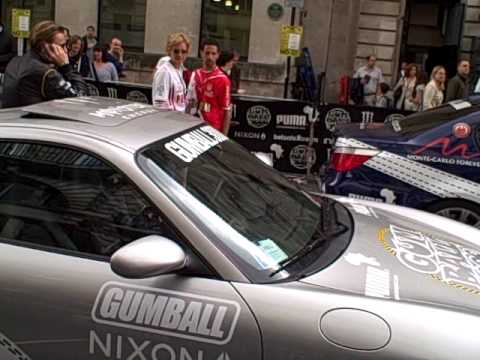 Gumball 3000 London May 2010 – Walking through the lineup Part 1/3