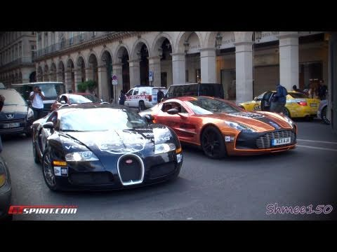 Gumball 3000 2011 Paris Departures