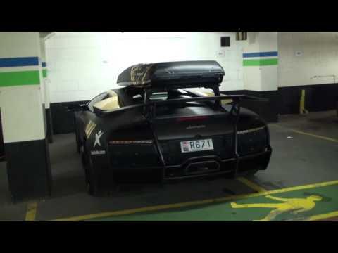 Jon Olsson's Lamborghini Murcielago LP670-4 SV – Gumball 2010 – Walkaround, Driving