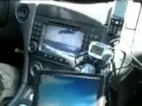 CLK DTM Gumball 2005 Gadgets